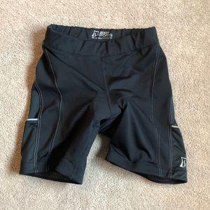 EUC Black Skirt Sport padded biker shorts